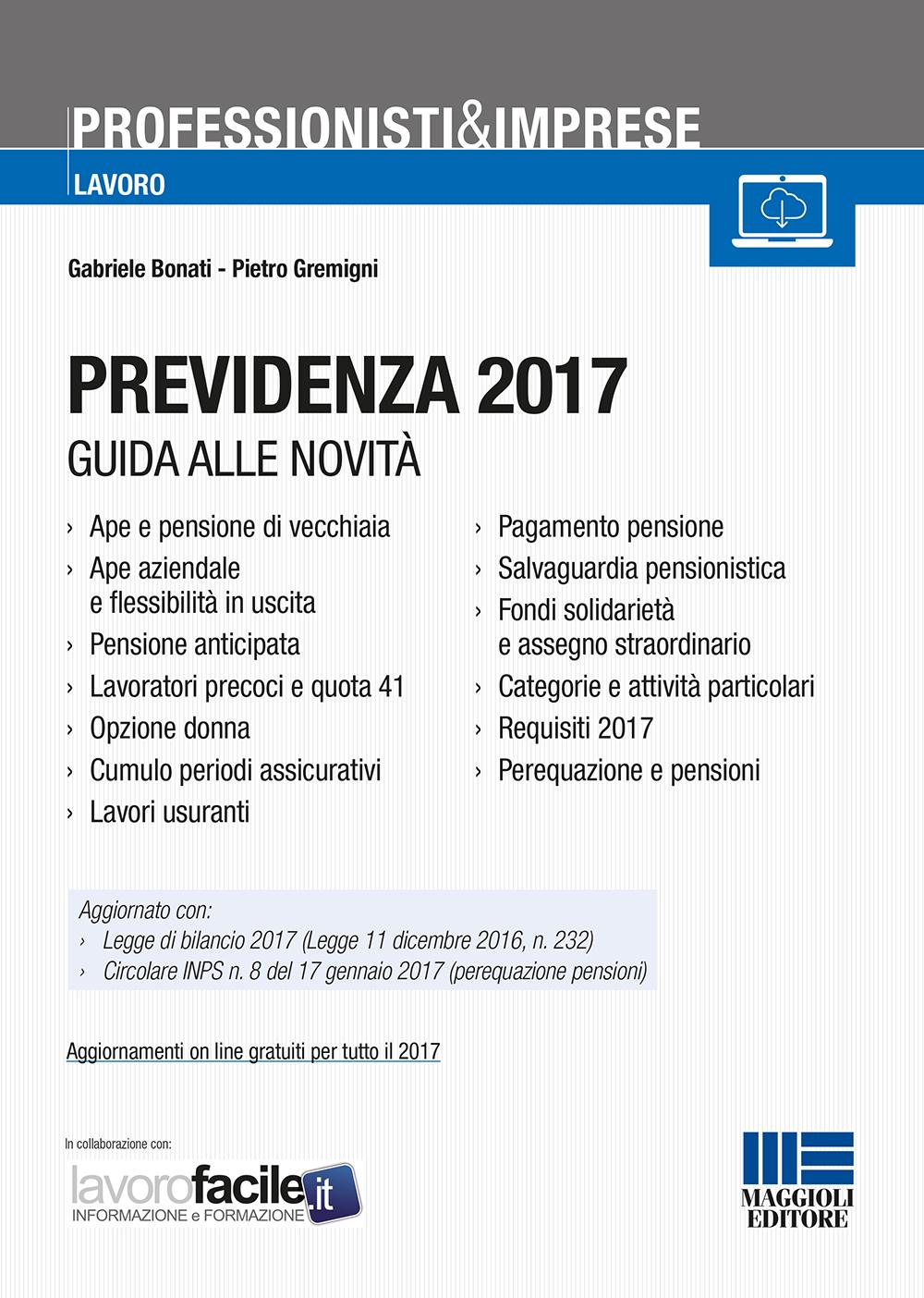 Previdenza 2017
