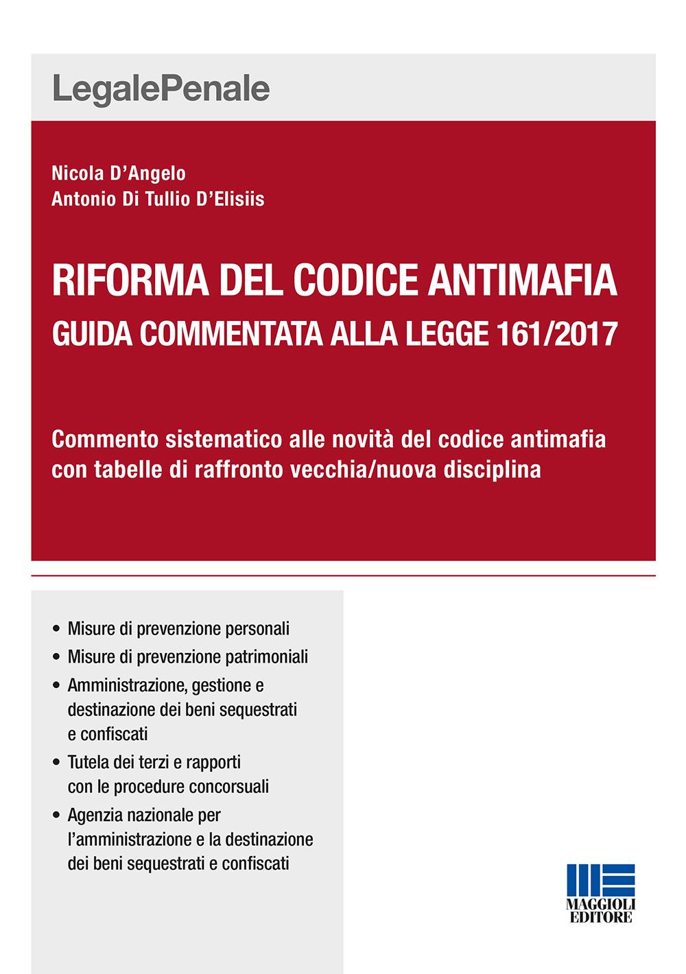 Riforma del codice antimafia