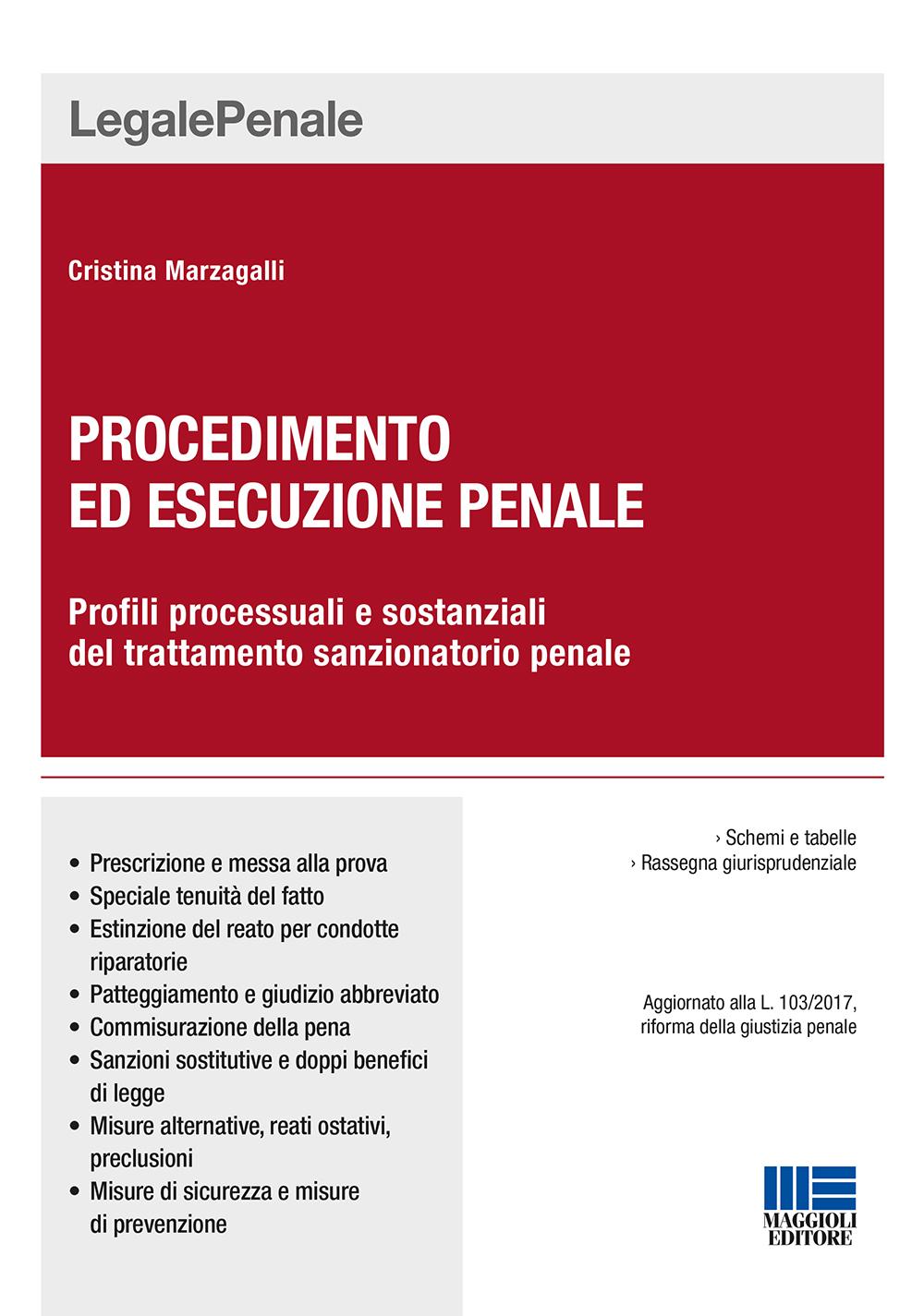 Procedimento ed esecuzione penale